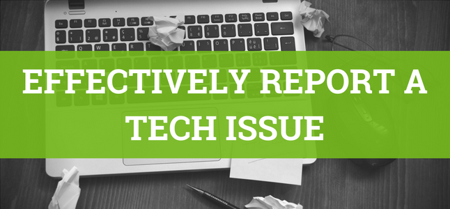 Tech Issue Blog